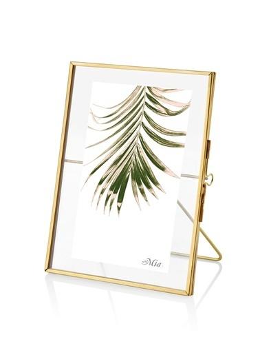 The Mia Brass Çerçeve 16 x 11 Cm Altın
